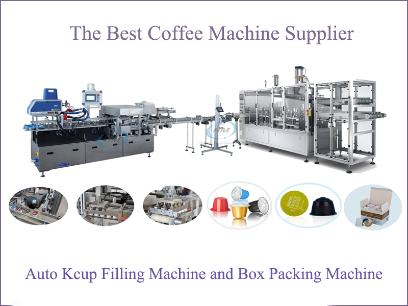 Kcup Boxing Packing Machine