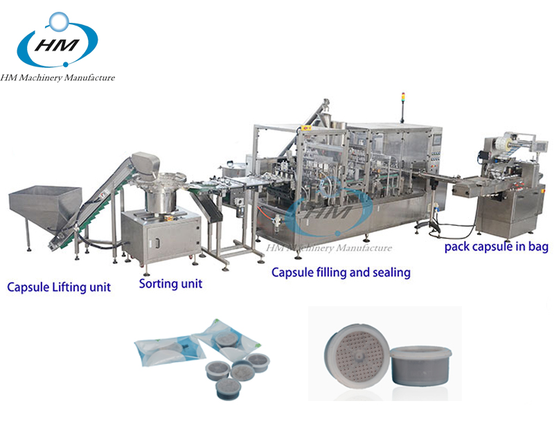 China best Lavazza point filling Sealing machine manufactures