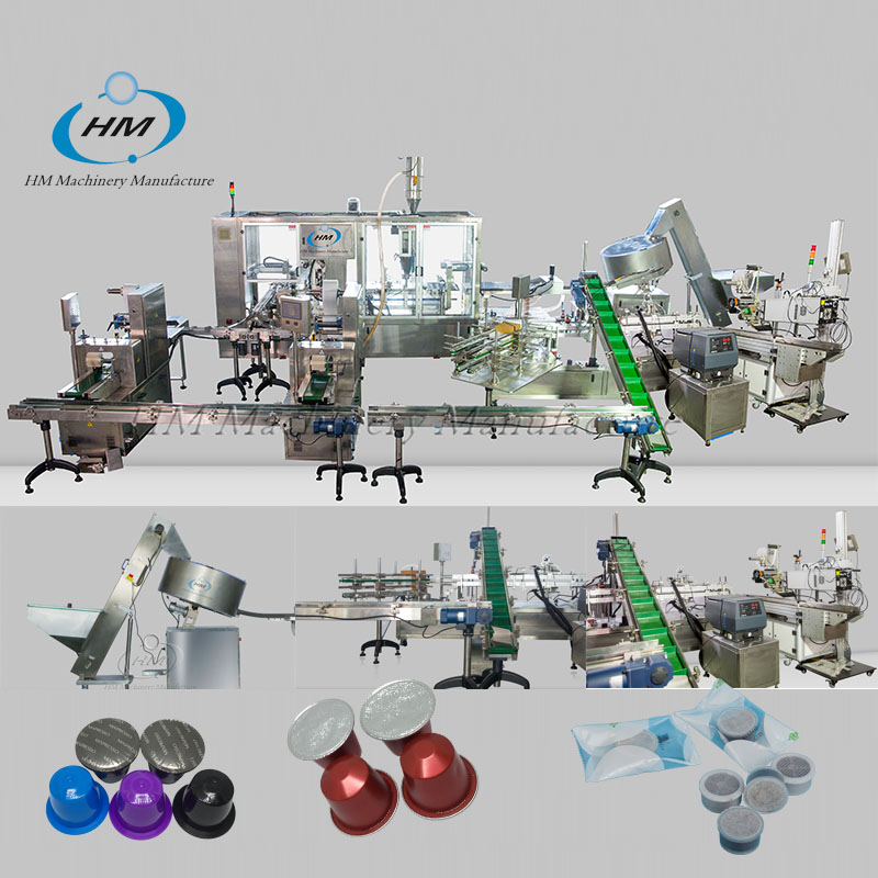 Nespresso Coffee Filling Packing Production Line