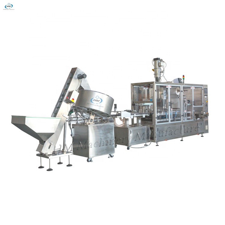 Hot sale capsule liquid and powder filling and sealing machine