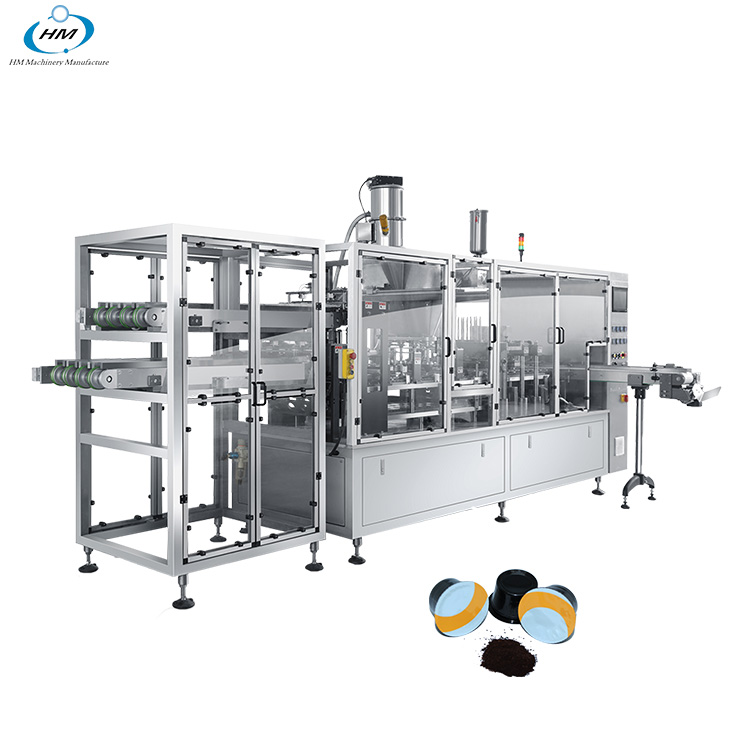 China Most Popular k Cup Coffee Capsule Sealing And Filling Machine