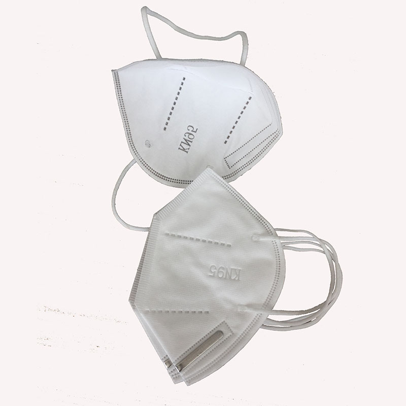 KN95 Cup shape Safety 4ply Dust Face Mask with Valve