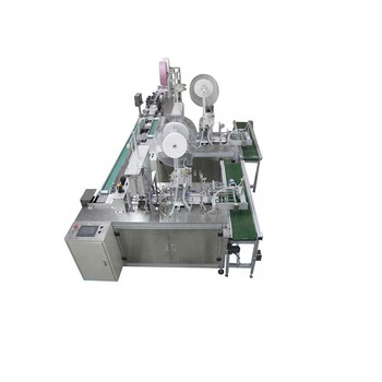 Manufacture 3 ply Non woven Surgical Disposable kn95 Face Mask Machine Fully Automatic
