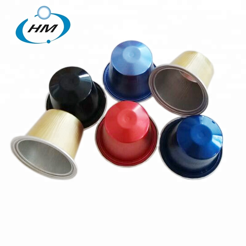 Sale PP Empty coffee capsules with lid for nespresso