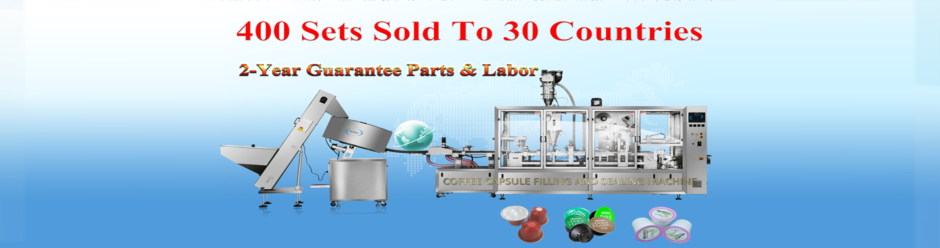 HSP High Speed Automatic Capsules Filling Sealing Machine