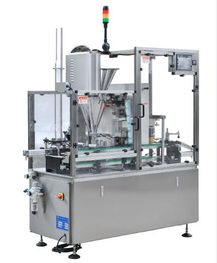 HSP-1L Single Lanes upshot Coffee capsule Filling and Sealing Machine