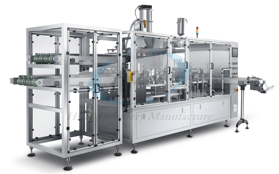 HSP-4 Kcup Tea Filling and Sealing Machine